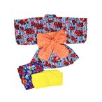 70%OFF セール 【返品・交換不可】 Ocean&Ground オーシャン&グラウンド ベビー キッズ 浴衣ワンピース MODERN FLOWER