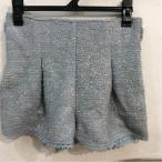 LIZLISA LIZ LISA 水色×裾かぎ針編みレースショートパンツ サイズ0