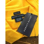 ラルフローレン ラルフローレン 濃い黄色 半袖ポロシャツ サイズM