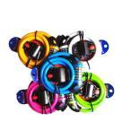 TONYON 5桁ダイヤル式 ワイヤーロック 自転車用 ブラケット付 シートポスト用 カラー5色【鍵 要らず】