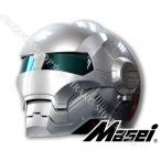 MASEIヘルメットバイク用ヘルメットアイアンマンロボヘルロボット風ヘルメットかっこいいおしゃれ丈夫ガラス繊維素材helmet送料無料最新モデルSMLXLXXL
