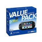PlayStation Vita 16GB バリューパック ブラック 新品 PSVita 本体