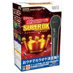Wii 中古 ソフト カラオケJOYSOUND Wii スーパーDX マイクDXセット