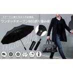 折りたたみ傘 メンズ男性用 丈夫 大きい 12本骨 自動開閉 超撥水