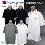 チャンピオン メンズ ポロ XL LL 3L 4L 5L  CHAMPION C3-V352L ラインド ポロシャツ ビッグサイズ