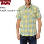 リーバイス カジュアル メンズ 半袖 トップス LEVIS 65817-00L06 チェック ウエスタン シャツ