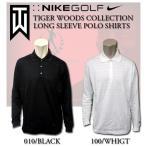 ナイキ ゴルフ メンズ NIKE GOLF MENS 375527 LSトップス タイガーウッズ コレクションDRI-FIT STAY COOLロングスリーブ 高級ポロシャツプレミアムモデル