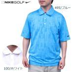 ナイキ ゴルフ メンズ トップス NIKE GOLF 402328 パターン ドライフィット半袖