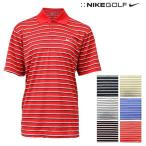 ナイキ ゴルフ メンズ トップス NIKE GOLF 402461 DRI-FIT 半袖 ボーダー ポロシャツ