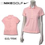 ナイキ NIKE GOLF SSトップス 412037 DRI-FIT テックピケ  ゴルフ レディース 半袖 ポロシャツ シンプル STAY COOL 機能性 吸汗