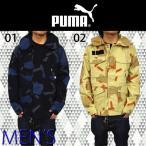 プーマ PUMA MENS アウター 562728  メンズ ミリタリージャケット 男物 上着 かっこいい おしゃれ 迷彩 幾何学 模様 クール ※日本製品よりも全体的に1〜2サイズ