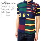 ラルフローレン ポロシャツ メンズ POLO by RALPH LAUREN mnb10261 カスタムフィット 1967 パッチワーク 半袖 ブランド おしゃれ カジュアル | C