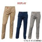 リプレイ メンズ カジュアル ロング パンツ REPLAY M9463 チノパン