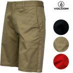 ボルコム メンズ ハーフパンツ VOLCOM A09114JC Frickin Too Art チノ ショート パンツ チノパン ブランド | C