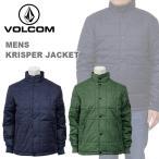 ボルコム カジュアル メンズ 中綿 ミリタリー ジャケット ダウン VOLCOM A1631404 KRISPER JACKET