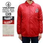 ボルコム メンズ アウター VOLCOM A16318JA Pistol Boa Coach JKT | ジャケット カジュアル グリーン レッド ブラック シンプル ロゴ プリント