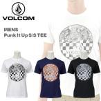 ボルコム カジュアル メンズ 半袖 Tシャツ VOLCOM A50114JR Punk It Up S/S TEE