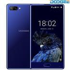 Unlocked Smartphones, DOOGEE MIX 6G SIM Free Mobile Phones, 5.5 Inch AMOLED HD Screen Phone with Android 7.0 - MediaTek Helio P25 2.5GHz - 6GB RAM + 6