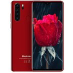 Blackview A80 pro Unlocked Mobile Phone 4G, 6.49 inch HD+ Screen, Helio P25 4GB+64GB, Four Rear Camera, 4680mAh Battery Fast Charge, Android 9.0 DUAL