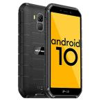 Rugged Smartphones Ulefone Armor X7 Pro, Android 10 4G SIM Free Mobile Phone, 4GB RAM 32GB ROM, 13MP + 5MP Waterproof Cameras, 5.0 Inch Corning Gorril