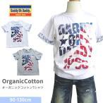 セール SALE Daddy Oh Daddy ダディオダディ 日本製オーガニックコットン袖配色Tシャツ