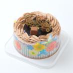 バースデーケーキ/チョコレートケーキ4号/ポストカード無料/パーティークラッカープレゼント