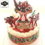 クリスマスケーキ2019・騎士竜戦隊リュウソウジャーケーキ・シアワセリュウソウル付き・生クリーム苺2段サンド
