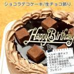 ショコラ9号/生チョコ飾り/苺なし/ポストカード無料/パーティークラッカープレゼント/バースデーケーキに・・・