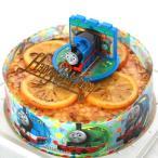ミルクレープオレンジ きかんしゃトーマス キャラデコケーキ バースデーケーキ お誕生日ケーキ キャラクターケーキ