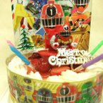 (お誕生日用に変更)クリスマスケーキ限定/列車戦隊トッキュウジャー2014