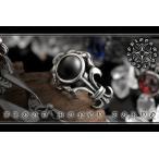 ポイント10倍 MBT-14042黒 サージカルステンレスリング メンズ 指輪 SUS316L プレゼントにも ホストギャルオ悪羅悪羅系 オラオラ系 ヤクザ 派手 お兄系