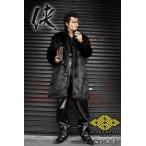 ポイント10倍 14060黒 ヤクザ ブランドBLOOD MONEY TOKYOファーコート 服 オラオラ系 ヤカラグ悪羅悪羅系 ホストスーツ