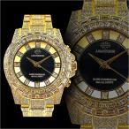 送料無料&ポイント10倍 1年間保証付 ソーラー電波 クロノグラフ腕時計006金 自動巻き手巻き防水メンズ腕時計Men's紳士 ヤクザ 悪羅悪羅系 オラオラ系