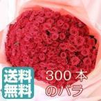 バラ花束 300本 大量 ボリューム 花束 バラ最安価格を目指して 記念日のギフトにバラの花束を お祝い プレゼント