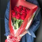花束 バラ 大輪のバラ 12本 インポートローズ 高品質で大輪咲きのバラ カラー豊富のバラ ギフト プレゼント