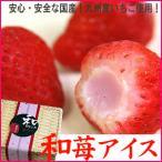 アイス  国産いちごと練乳の和苺アイス14粒・送料無料