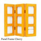 写真立て フォトフレーム パネルフレーム チェリー Panel frame Cherry あすつく