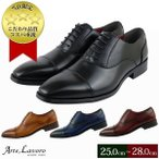 ビジネスシューズ ストレートチップ メンズ 3E 黒 ブラック フォーマル 結婚式 紐 革靴 大きいサイズ