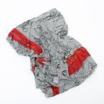 ファリエロサルティ FALIERO SARTI モダール混 スカーフ ストール ミッキー柄 グレー系 I15 2181 39065 Micky Mouse