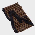 グッチ GUCCI シルク スカーフ 幾何学模様 マルチカラー ブラック基調 397975 4G005 3365