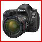 Canon デジタル一眼レフカメラ EOS 6D Mark II EF24-70 F4L IS USM レンズキット 【新品・量販店印付き品】