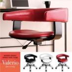 チェア〔Valerio〕ブラック モダンデザインオフィスチェア/デスクチェア〔Valerio〕ヴァレリオ〔代引不可〕