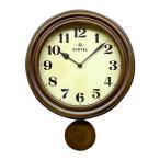 昭和初期の時計をイメージしたレトロ電波振り子時計!!