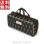アルティザン&アーティスト ARTISAN&ARTIST ブラシケース付きバッグ型ポーチ 8WP-LI619 ヴァリアント・ルージュ #ブラック [139554]
