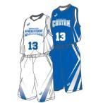 バスケットボール ユニフォーム プリントオーダーコンポ 専用オプション ベースデザインT-V、Y(PA20-22、25)選択用 アシックス  受注生産