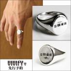 VIVIFY ビビファイ リング 指輪 シルバーHallmarks Seal Ring 受注生産