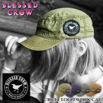 BlessedCrow ワークキャップ ブランド ロゴ 帽子 メンズ レディース ファッション