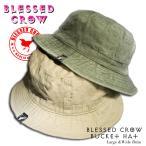 BlessedCrow バケットハット メンズ 帽子 ブランド 人気 アウトドア サファリハット