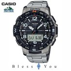 CASIO PROTREK カシオ 腕時計 メンズ プロトレック チタンバンド 2020年3月新作 PRT-B50T-7JF 40,0