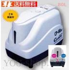 プレゼント付き!!テクノ高槻 CP-80W-R 右側散気 浄化槽ブロワー 逆洗タイマー付